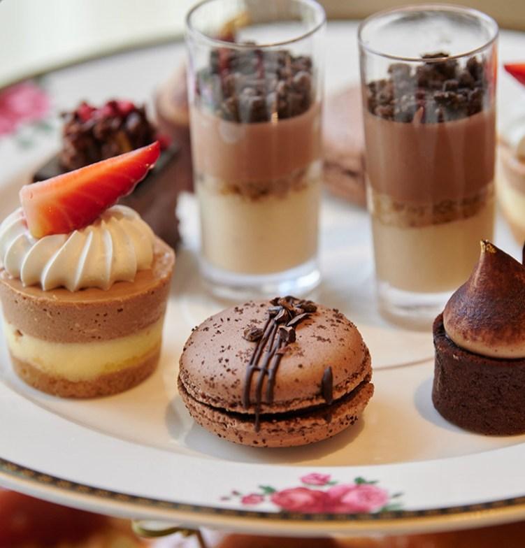 Valrhona Chocolate Afternoon Tea - supplied photo