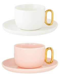Celine Luxe teacup and saucer