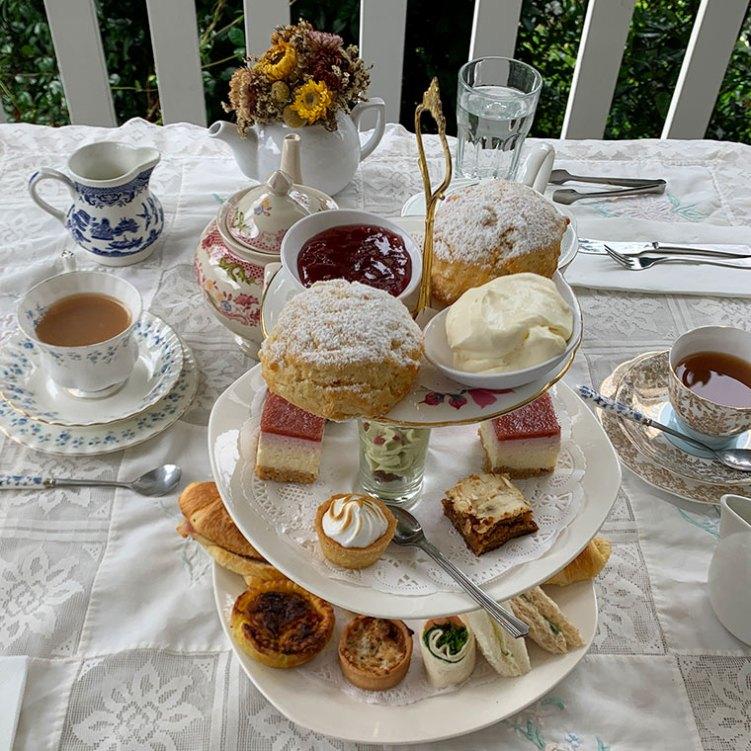 High Tea at Teavine House