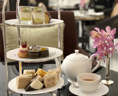 Afternoon Tea at Raffles Singapore.