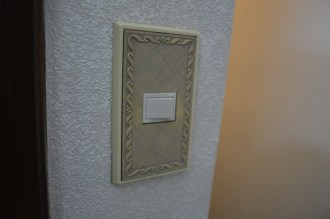 Old light switches (some of which had no function)