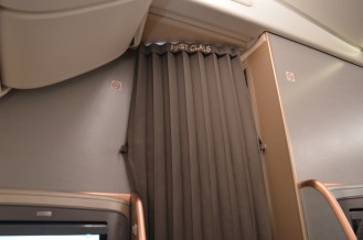 Curtain to First Class