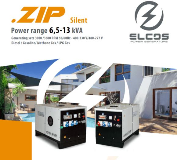 ELCOS ZIP Silent generators