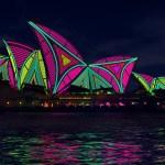 Novas luzes em Sydney