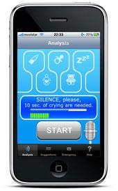 Uma app que promete descodificar o choro do bebé