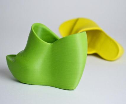 Impressão em 3D. Escolha o modelo e imprima. Foc Shoes High Heel Classic by Janne Kyttane for The Cube