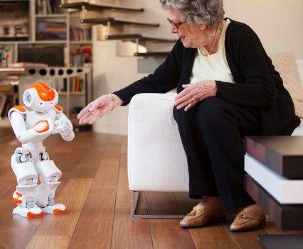 NAO, um robô humanoide, da Aldebaran Robotics