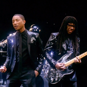 Grammy Awards - Pharrell Williams e Nile Rodgers