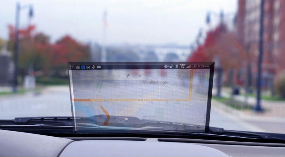 Condução mais segura com HeadsUp!, da NeXt