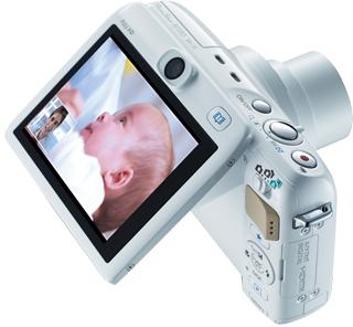 PowerShot N100, da Canon. Para fotografar e fazer selfies