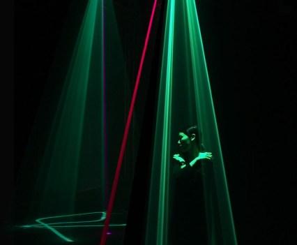 Arte digital, no The Barbican, em Londres. Assemblance, 2014. Umbrellium