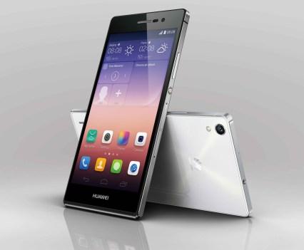 Smartphone Ascend P7, da Huawei