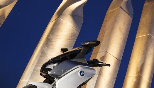 A scooter elétrica da BMW