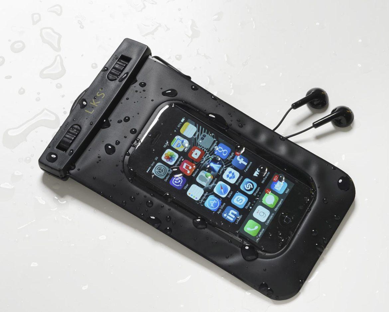 Bolsa impermeável para smartphone