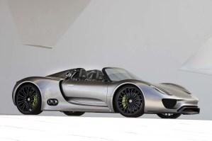 Carros de sonho. 2010, Porsche 918 Spyder Concept Car