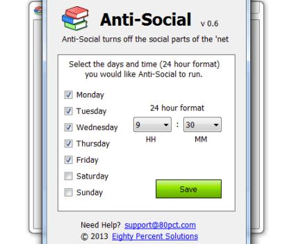 Anti-social, um software que ajuda a estudar e trabalhar melhor