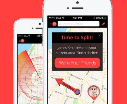 Split, a aplicação para evitar encontros indesejados