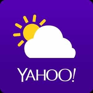 Yahoo Weather. Apps para saber o estado do tempo