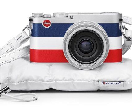 Fotografia. Leica X Edition Moncler