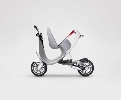 A scooter inteligente da Gogoro