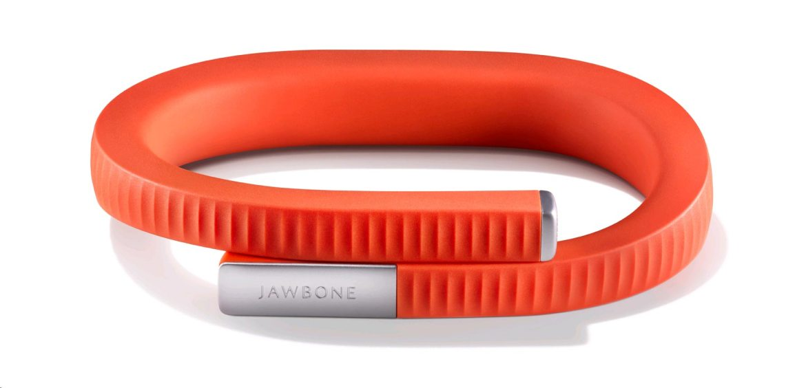 Passatempo sempre em forma Orange Jawbone UP24