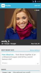 Apps para encontrar um grande amor. How About We