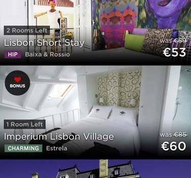 Viajar melhor e mais barato. App HotelTonight. Lisboa