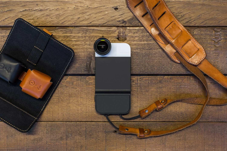Fotografia com smartphone. Capa, lentes e app Moment