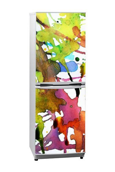 Personalizar frigorífico. Painel Cores, da Magenta Decoração