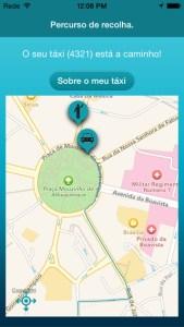 Apps para chamar táxis. MEO Táxi