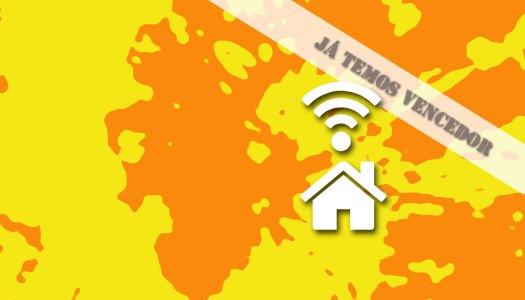 Sabe quem venceu o passatempo Wi-Fi em toda a casa?