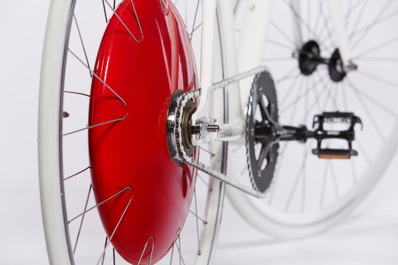 Gadgets para pedalar melhor. The Copenhagen Wheel, foto de Michael D Spencer