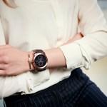 Um smartwatch com brilho