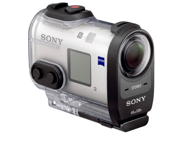 Gadgets à prova d'água. Action Cam FDR-X1000V 4K, da Sony