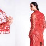 Moda: tecidos impressos em 3D