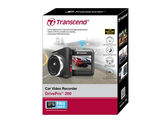 Transcend DrivePro 200: As memórias dos nossos caminhos em vídeo