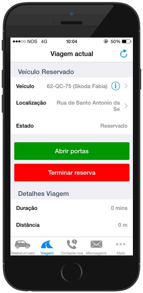 Carsharing, como ter um carro disponível por algumas horas (ou menos). App da CityDrive