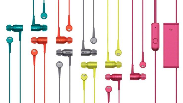 Outono com muita cor. Linha Hear Your Colours, da Sony. Auriculares h.ear in NC