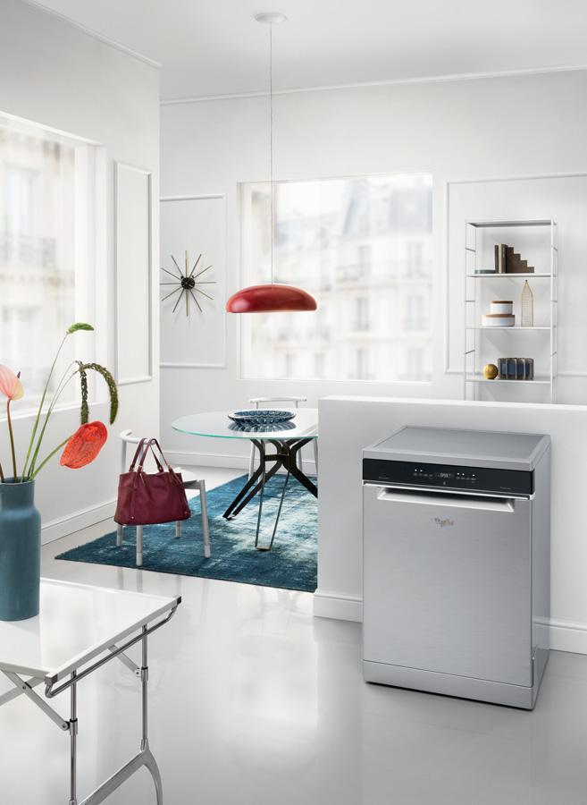 Eletrodomésticos com sexto sentido. Máquina de Lavar Loiça Supreme Clean, da Whirlpool