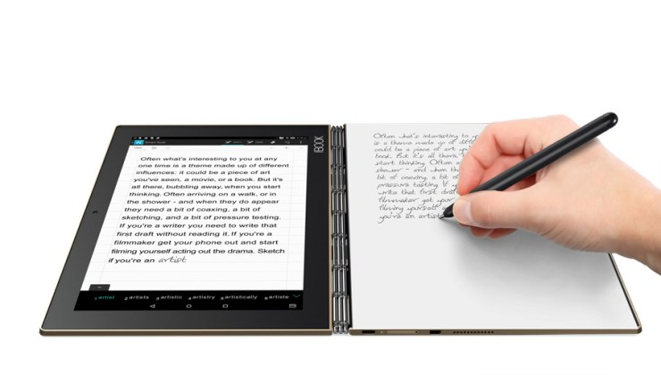O inovador Yoga Book, da Lenovo