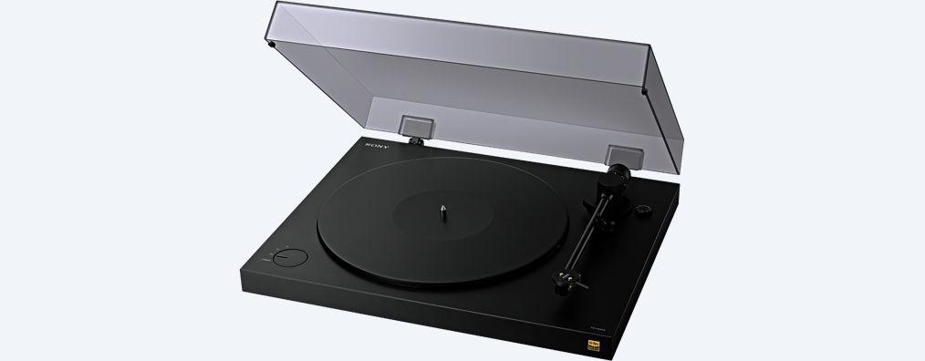 Gira-discos discos PS-HX500, da Sony. Quando o vinil encontra o digital