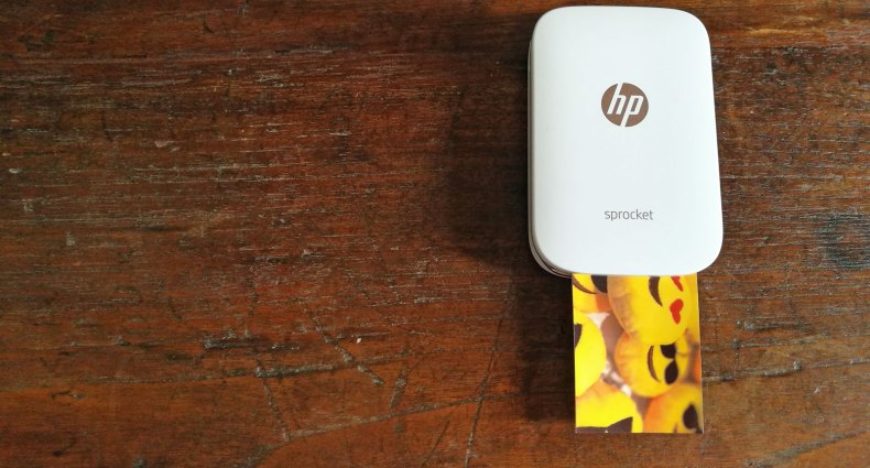 Sprocket, a impressora de bolso da HP