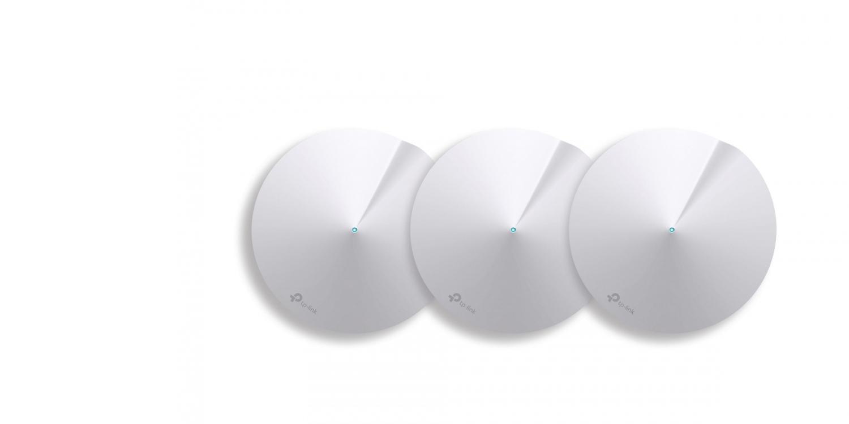 Deco M5, da TP-Link. Wi-Fi uniforme e segura por toda a casa