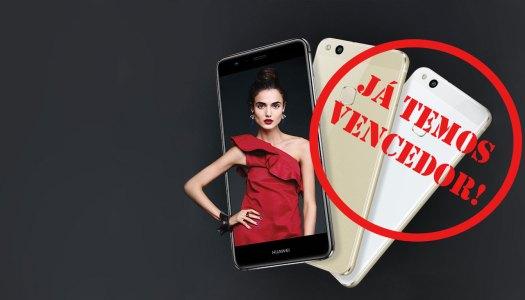 Sabe quem ganhou o Huawei P10 Lite?