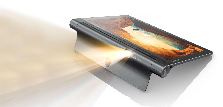 Tablet com projetor Yoga Tab 3 Pro, da Lenovo