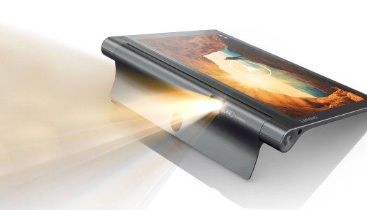 Um tablet que é também um projetor