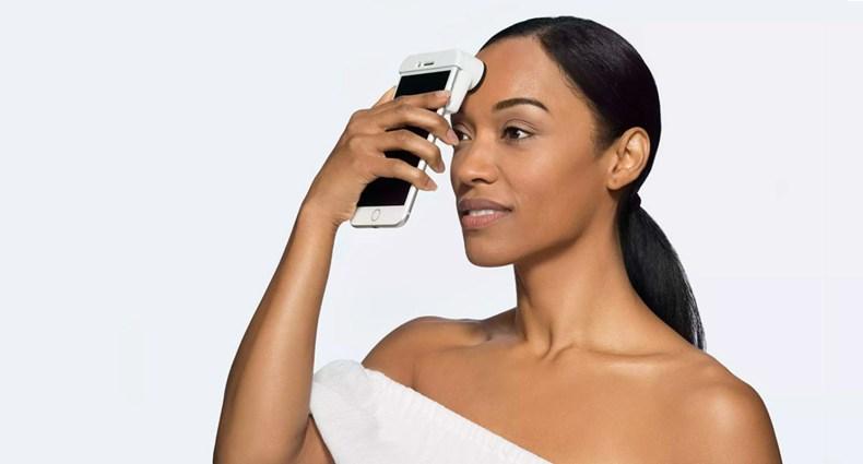 O inovador scanner de pele para smartphone da Neutrogena