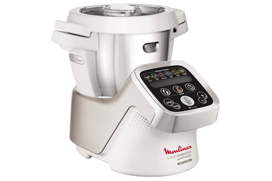 Eletrodomésticos para quem não tem tempo para nada. Robô de Cozinha Moulinex iCompanion