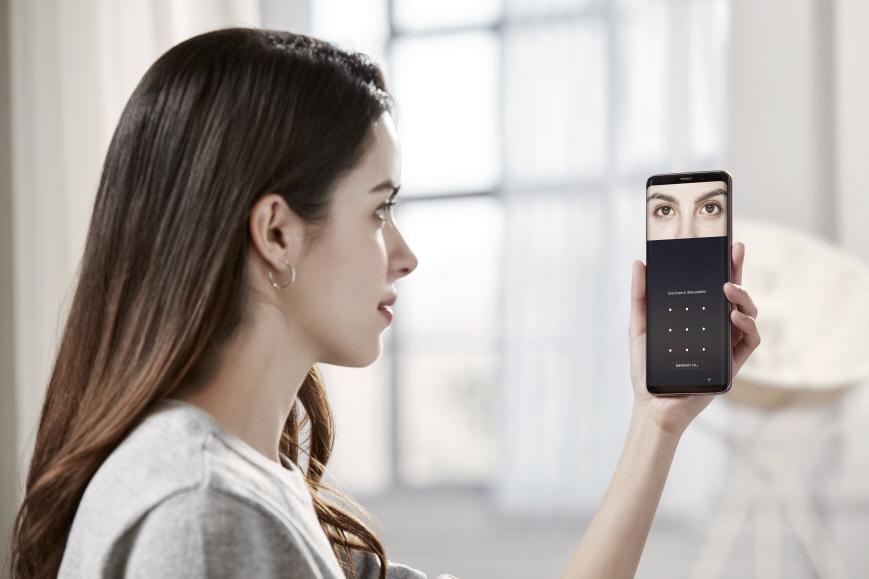 Samsung Galaxy S9   Leitor de Iris