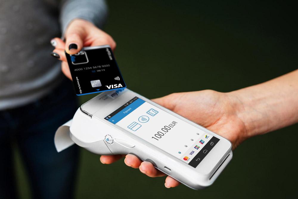 myPOS pagamento com o telemóvel